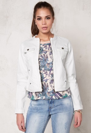 b.young Pullie Zip Jacket 80115 Off White 42