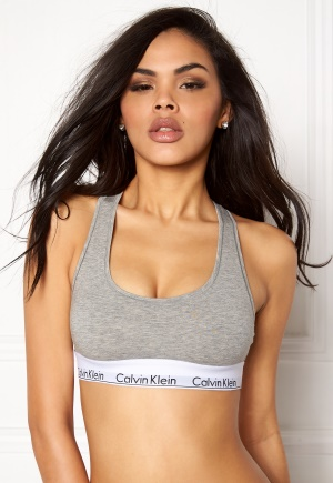 Calvin Klein CK Cotton Bralette 020 Grey Heather M thumbnail