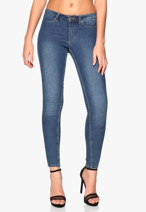 CHEAP MONDAY Mid Spray Jeans Mid Blue Bubbleroom.no
