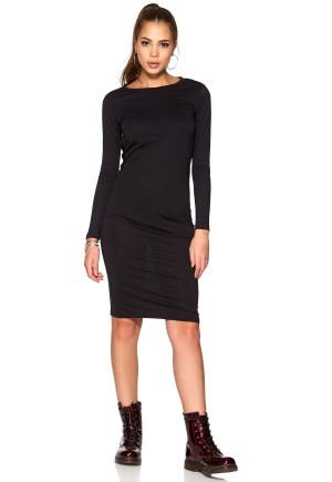 CHEAP MONDAY Tracy Dress Black S