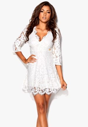 Chiara Forthi Ellix Dress White <a href=