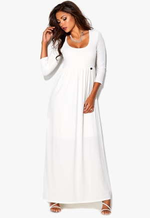 Chiara Forthi Thais Maxi Dress Cream Bubbleroom.se
