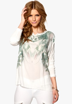 Culture Nie Blouse Gardenia Bubbleroom.se