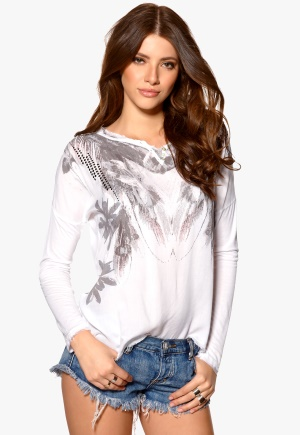 Culture Nie Blouse White Bubbleroom.se