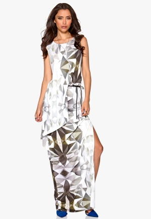 DAGMAR Magdalena Long Dress Print Bubbleroom.se