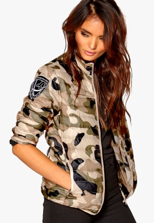 D.Brand City Down Jacket Camo Bubbleroom.se