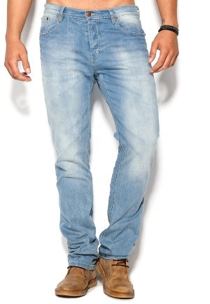 D.Brand Skinny Fit Jeans Denim Bubbleroom.se