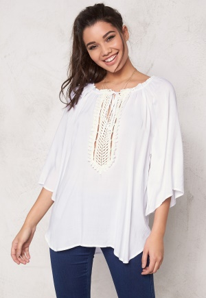 F.A.V Silky Lace Tunic White One size thumbnail