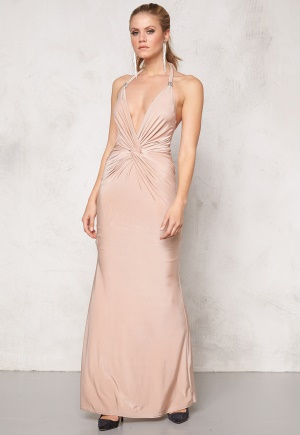 Goddiva Dress Nude L thumbnail