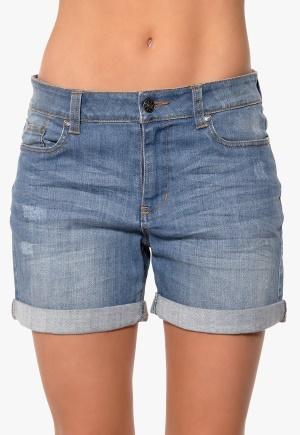 Happy Holly Shorts Mellan denim Bubbleroom.se