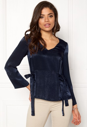 Happy Holly Jannike blouse Dark blue 44/46 thumbnail
