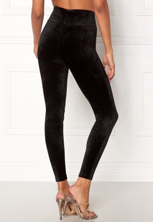 Happy Holly Reese velour pants Black 36/38 thumbnail