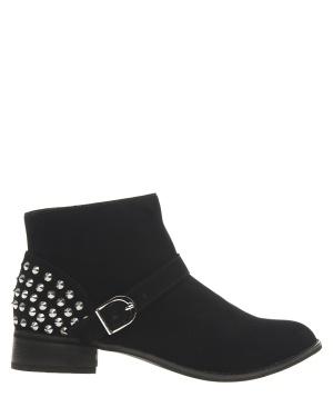 Have2have Boots med nitar, Eveline Svart Bubbleroom.se