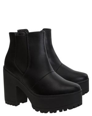 Have2have Boots med platåsula, Nora10 Svart Bubbleroom.se