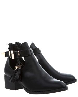 Have2have Cutout boots, Daniella Svart Bubbleroom.se