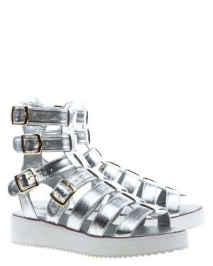 Have2have Gladiatorsandaler, Ellinor Silver Bubbleroom.se
