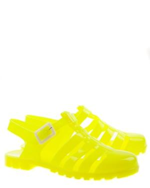 Have2have Gummisandaler, Asta Gul neon Bubbleroom.se
