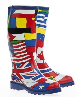 Have2have Gummistövlar, Flags of the world Flags Bubbleroom.se