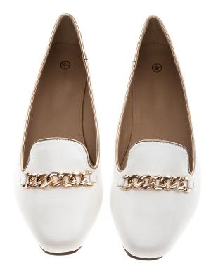 Have2have Loafers med kedja, Zafir Vit Bubbleroom.se