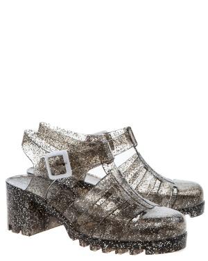 Have2have Sandaler i gummi, Majken Transparent och glitter Bubbleroom.se