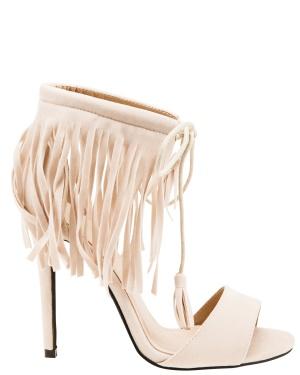 Have2have Sandaletter med fransar, Heat Ljust beige Bubbleroom.se