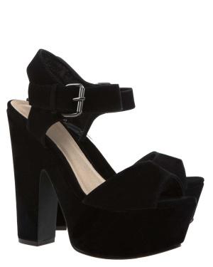 Have2have Sandaletter med klossklackar, Patsy Svart Bubbleroom.se