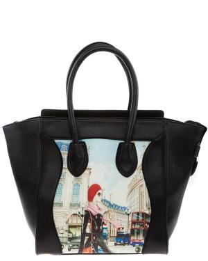 Have2have Shopper, London Svart Bubbleroom.se