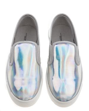 Have2have Slipin sneakers, Eden Silver Bubbleroom.se