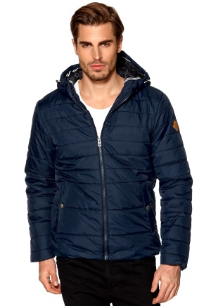 JACK&JONES Boom Puffer JKT ORG Dress Blues Bubbleroom.se