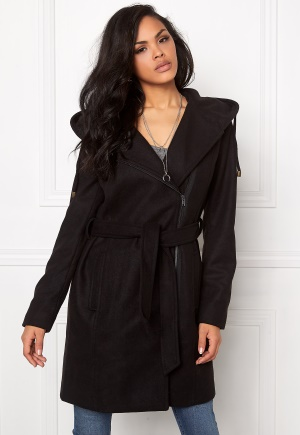 OBJECT Jolie Coat Black 34 thumbnail