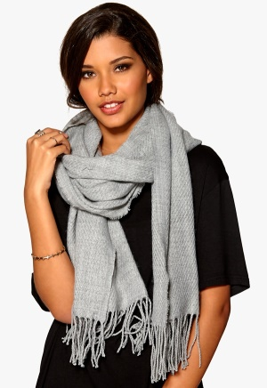 Pieces Kial Long Scarf Light Grey Melange One size thumbnail