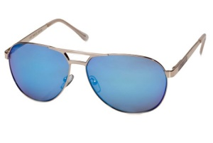 Le Specs Le Specs Just Mauid Gold Sand Blue Revo Mirror Lens One Size thumbnail