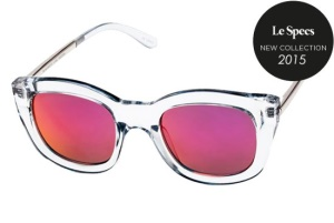 Le Specs Le Specs Runaways Luxe Ash Pink Revo Mirror Lens One Size thumbnail