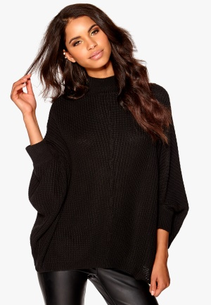 Make Way Ligia Sweater Black Bubbleroom.no