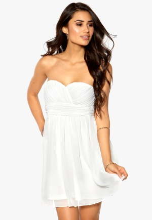 Model Behaviour Lita Dress White Bubbleroom.se