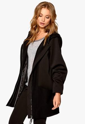 Minimarket Hopi Krizia Coat Black+Black Bubbleroom.se