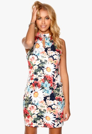 Mixed from Italy - Flowerprint Knitted Dress