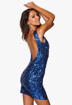 Model Behaviour Rebecka Dress Blue <a href=