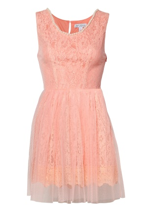 Model Behaviour Amelia Dress Pink Bubbleroom.se