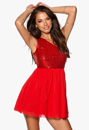 Model Behaviour Maria Dress Red <a href=