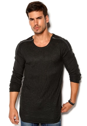 Mouli Ritsaerd Knit Black Bubbleroom.se