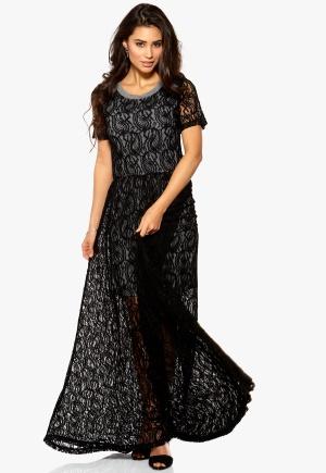 Make Way Yara Dress Black/Grey Bubbleroom.se
