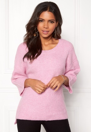 OBJECT Hope 3/4 Knit Pullover Pink Nectar S/M thumbnail