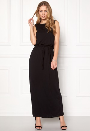OBJECT May Caroline Long Dress Black S thumbnail