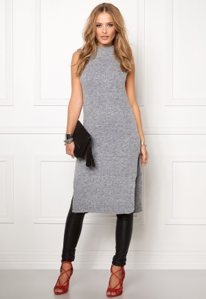 OBJECT Nina nonsia S/L knit Medium grey melange M thumbnail