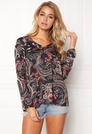 Odd Molly Back On Track Blouse Almost Black XL (4) thumbnail