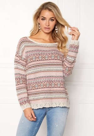 Odd Molly Cozyness Sweater Pink L (3) thumbnail