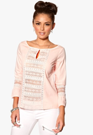 Odd Molly Flour Power Blouse Rose Bubbleroom.se
