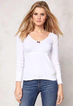 Odd Molly Rib Jersey l/s Bright White XL (4)