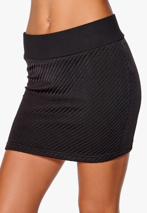 ONLY Dylaney Short Skirt Black Bubbleroom.se